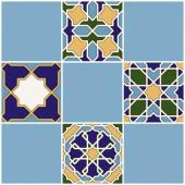Плитка настенная син верх 03 010101004794