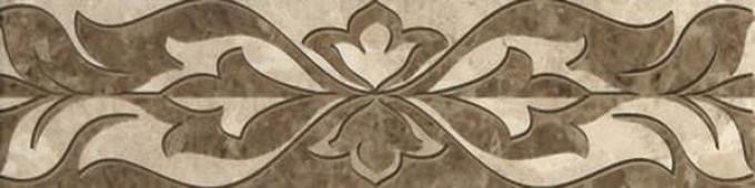 Бордюр Saloni brown border 01